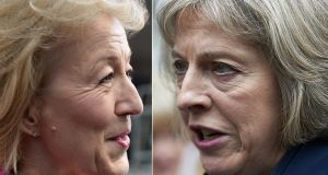 Andrea Leadsom  and Theresa May have been slected  as the two candidates to be prime minister and the choice will now go to party members. NIKLAS HALLE'N,CHRIS J RATCLIFFE/AFP/Getty Images