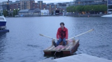 Reusing rubbish: artist voyages to Carlow on recycled boat