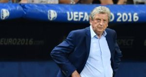 Roy Hodgson resigned as England manager in the immediate aftermath of their infamous defeat to Iceland. Photograph: Getty