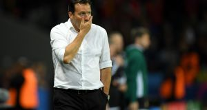 Marc Wilmots' Belgium failed to live up to their 'Golden Generation' billing. Photograph: Getty