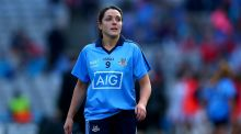 Sinead Goldrick scored the only goal of the first half for Dublin against Westmeath. Photograph: Inpho