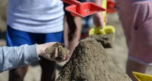 It's all about the beach at Sunshine House, Balbriggan, where St Vincent de Paul host children for a week's summer holiday. Photograph: Dara Mac Dónaill