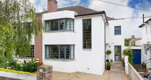 art deco house in clonskeagh for 1 55m
