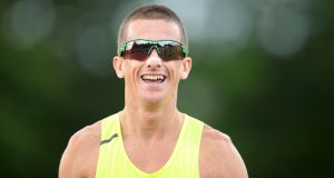 Rob Heffernan is the first Irish athlete to  be  selected for five consecutive summer Olympic Games after being named among a 17-strong team for Rio. Photograph:  Cathal Noonan/Inpho