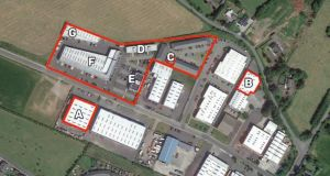 Dunboyne Business Park is producing a rent roll of €411,800 from five detached blocks