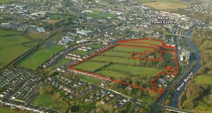 The site fronts on to Academy Street on the Dublin road out of Navan and should be of keen interest to local and national house builders