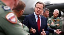 David who? David Cameron dropped in on the Farnborough International Airshow for one of his last engagements as prime minister