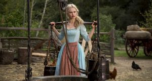 Rags to riches to rags: Lily James in Disney's Cinderella (2015), directed by Kenneth Branagh