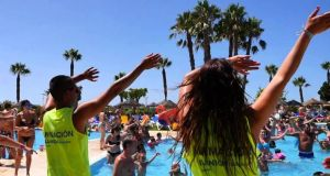 Holiday fun at an Ilunion group hotel in Spain: the company's business model is to build a world based on equality, solidarity and kindness where the main focus is on people and their potential