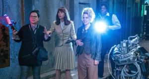 High spirits: Melissa McCarthy, Kristen Wiig, Kate McKinnon and Leslie Jones in Ghostbusters.