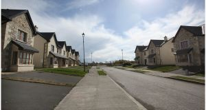 A file image of vacant houses in the Silver Birches estate, Stone Park, Co Longford. Figures from the CSO Census show there are more than 259,000 vacant homes in the State. Photograph: Brenda Fitzsimons/The Irish Times.