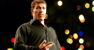 Tony Robbins:  US motivational guru