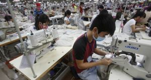 Contract manufacturing: exaggerates exports. Photograph: REUTERS
