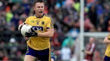 Niall Daly put in an influential performance for Roscommon in the drawn game against Galway. Photograph: Donall FarmerInpho.