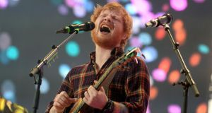 At least 100 people were scammed into buying fake tickets for Ed Sheeran's concerts in Croke Park last year summer. Photograph: Cyril Byrne