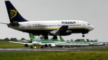 Ryanair:  among a number of airlines that experienced declines on Friday as a result of the attack in Nice, France. Photograph:  Eric Luke