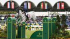 Bertram Allen enjoyed a profitable Saturday in Aachen. Photograph: Epa