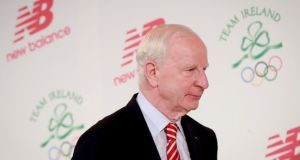 OCI chairman Pat Hickey has slammed a report calling for an outright Russian Olympic ban, which is due to be released on Monday. Photograph: Inpho