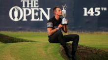 Henrik Stenson has moved up to fifth in the world following his win at the Open. Photograph: Getty