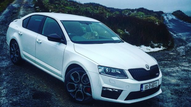 Skoda Octavia Vrs While It Manages To Keep Up With The Rest Of Hot