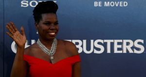 Leslie Jones  at the premiere of   Ghostbusters in Hollywood, California, on July 9th. The comedian was subject to racist abuse on social network Twitter. Photograph:  Mario Anzuoni/Reuters