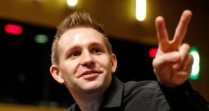 Privacy campaigner Max Schrems. Photograph: Julien Warnand/EPA