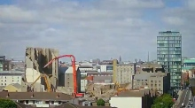 Timelapse video records demolition of Dublin's Boland's Mill