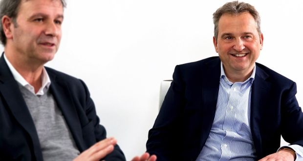 Auticon founder Dirk Müller-Remus (right) is a software developer whose son Ricardo was diagnosed with Asperger syndrome