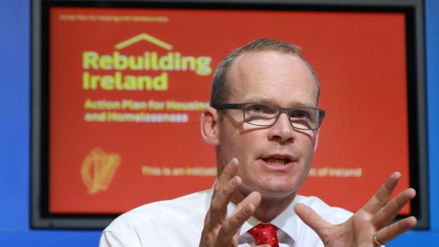 The Rebuilding Ireland – Action Plan for Housing and Homelessness was launched by Minister for Housing Simon Coveney. It does a good job of using the public funding which is available to best effect. Photograph: Nick Bradshaw