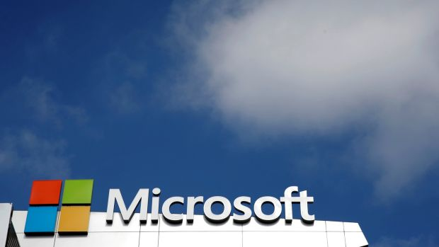 Cloud has become an important focus for Microsoft as it faces the stagnation of its PC-based Windows business. Photograph: Lucy Nicholson/File Photo/Reuters