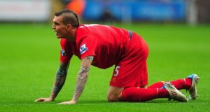 Daniel Agger has said he took too many painkillers throughout his career in order to be able to play. Photograph: Getty