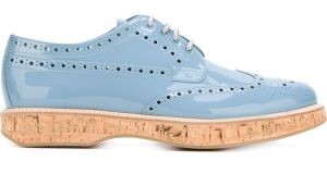It could be a shoo-in with these Keely brogues for €236 – 50 per cent off – from Church's at Farfetch.com
