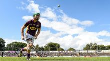 "Wexford's Matthew O'Hanlon: ""We were delighted to get over the line and prove we have it within us to win a big championship game."" Photograph: Tommy Grealy/Inpho"