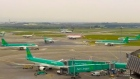 Timelapse of 'rush hour' at Dublin Airport