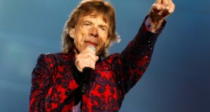 The announcement that Mick Jagger's 29-year-old girlfriend is expecting has led to some internet ribbing. Photograph: Reuters