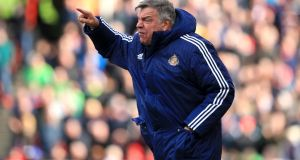 Sam Allardyce has yet to be announced as the new England manager. Photograph: Mike Egerton/PA