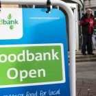 A food bank in the UK. Photograph: iStock