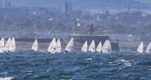 Dublin Bay will be the setting for the 350-boat Laser Radial World Championships hosted by the Royal St George YC.Photograph: David Branigan/Oceansport