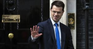 The new Northern SecretaryJames Brokenshire. His junior minister, Kris Hopkins, committed the British government to doing all it can to preserve the Common Travel Area after Brexit