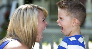Whether shouting does damage to children depends on the frequency and severity.