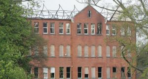 A file image of Belcamp College from 2011 after it was seriously damaged by fire. Photograph: Alan Betson/The Irish Times
