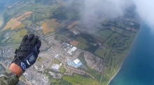Black Knights parachute into Bray ahead of the Air Display