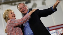 Clinton picks Irish-American senator Tim Kaine as running mate