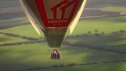 Russian adventurer sets world record for circumnavigating globe in hot air balloon