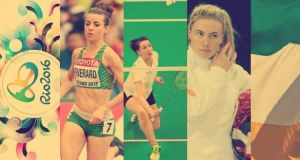 Rio bound: Ciara Everard, Chloe Magee and Natalya Coyle