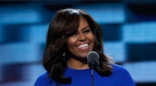 Michelle Obama stars at Democratic convention