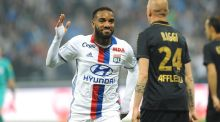 Arsenal have had a €35 million bid for Alexandre Lacazette rejected by Lyon. Photograph: Getty