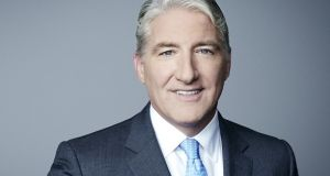 CNN presenter John King said on Twitter that he 'wasn't laughing at the mayor'. Photograph: cnn.com