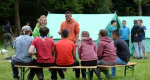Scouts help asylum-seekers  adapt to life in Ireland