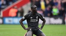 Liverpool defender Mamadou Sakho. Photograph: Alex Broadway/Getty Images